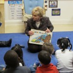Gov Perdue Reads to Preschool Kids in Raleigh