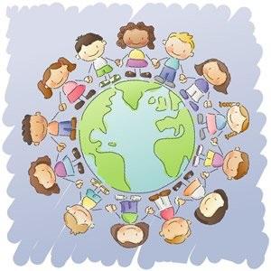 Children Celebrating Thanksgiving Around the World