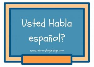 Primary Beginnings Spanish