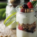 Kids Healthy Breakfast - Fruit Parfait
