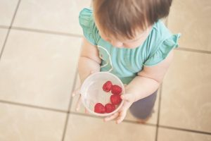 Healthy eating at Raleigh preschool