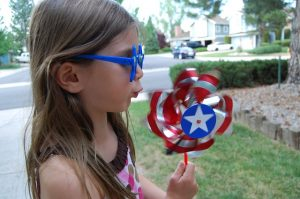 celebrating 4th of July Raleigh preschool and child care