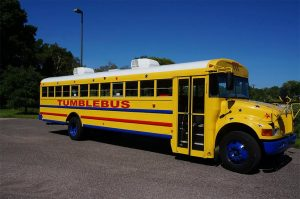 Tumble Bus School Bus Raleigh Childcare